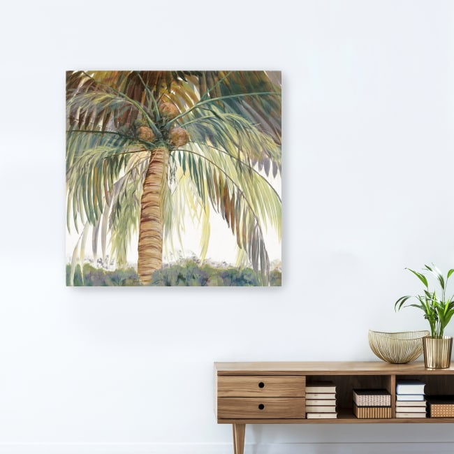 Tropics I Canvas Giclee