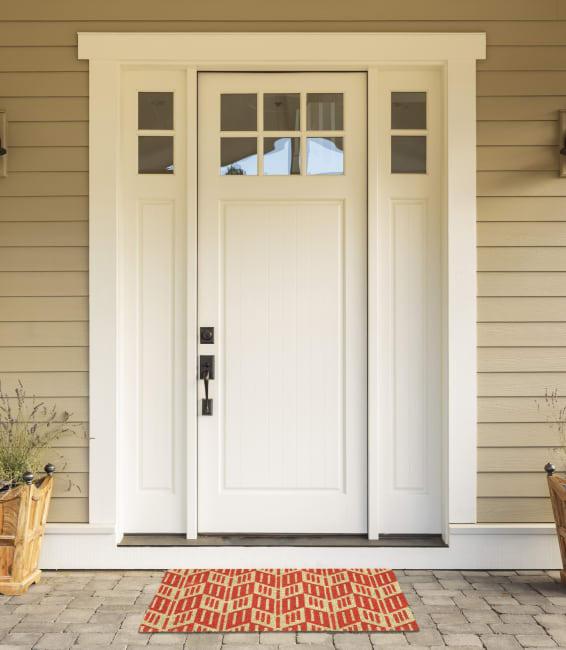 Arrowhead Chevron Doormat