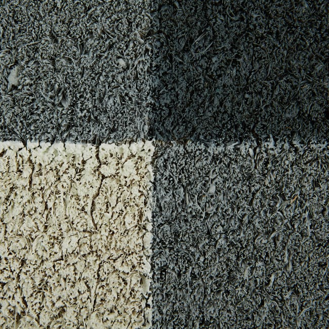 Gray & White Buffalo Check  Doormat