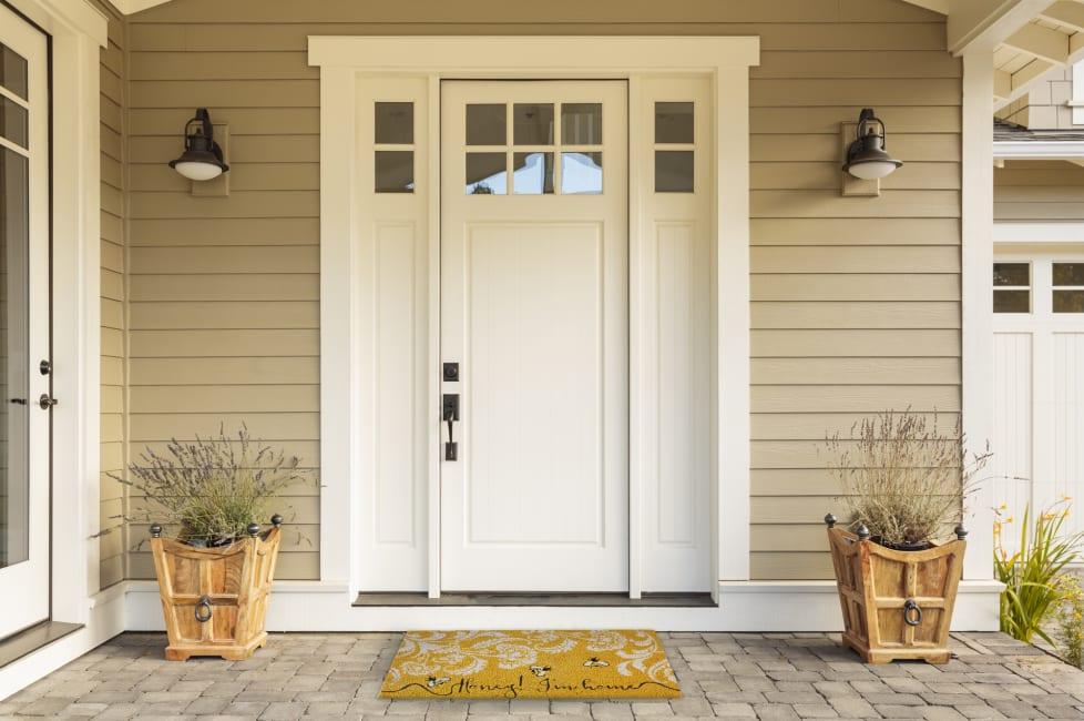 Honey I'm Home Doormat