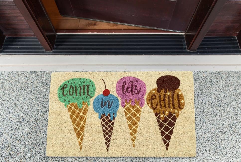 Let's Chill Doormat