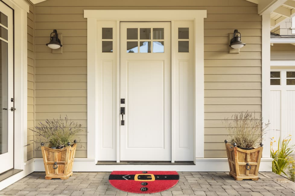 Santa Belly Doormat