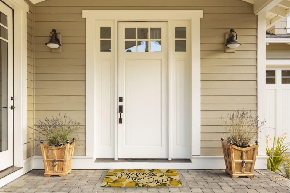Squeeze the Day Doormat