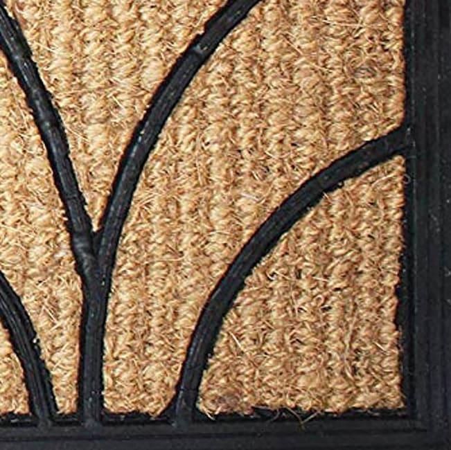 J&M Tuffridge Light Daisy Doormat 18x30