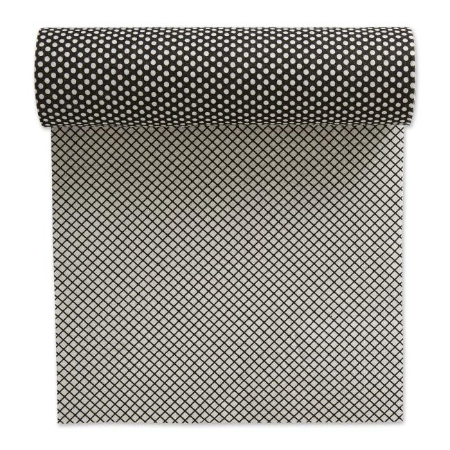 Black Dots Shelf Liner (Set of 2)