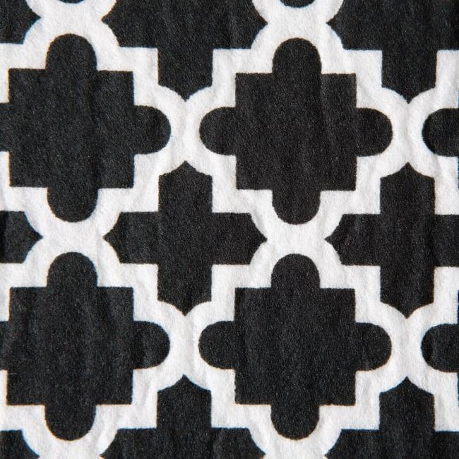 Black Lattice Shelf Liner (Set of 2)