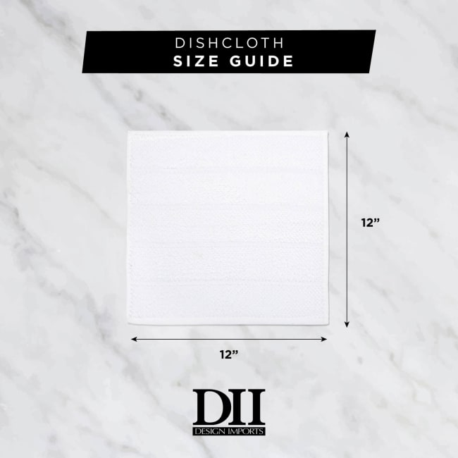 Gray Scrubber Dishcloth (Set of 6)