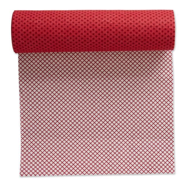 Tango Red Dots Shelf Liner (Set of 2)