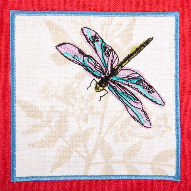 Assorted Botanical Embellished Dishtowel (Set of 3)