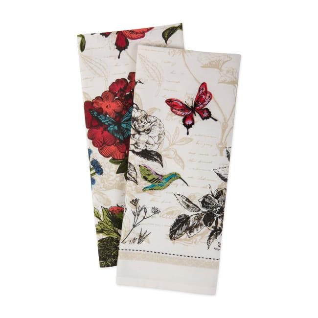 Botanical Blooms Dishtowel (Set of 2)