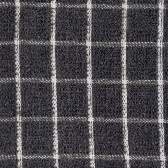 Gray Combo Windowpane Dishcloth (Set of 6)