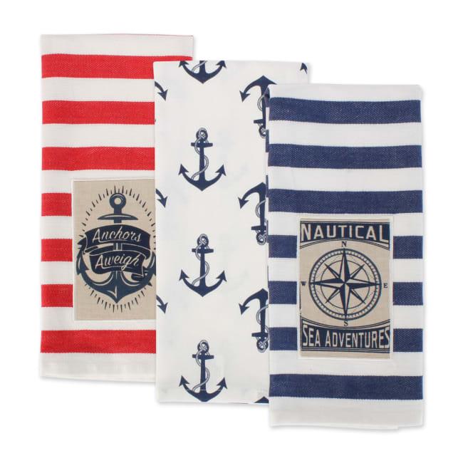 Maritime Spread Kitchen Towels, 18x28