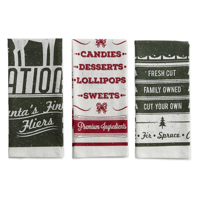 Vintage Farmhouse Flour Sack Dishtowel (Set of 3)