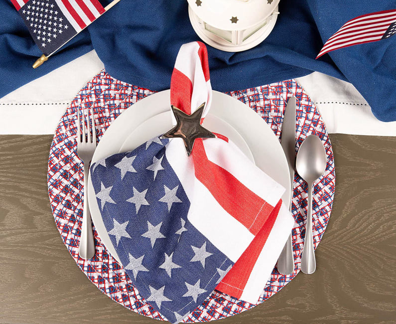 Americana Braided Placemat (Set of 6)