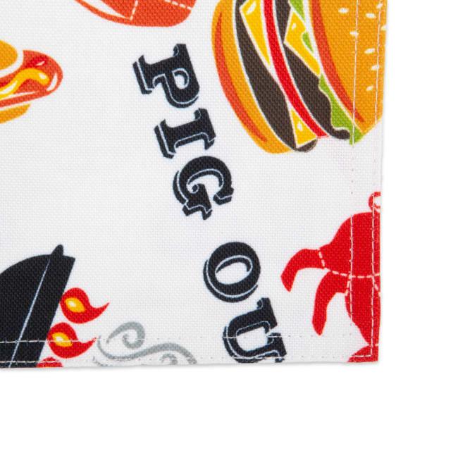 Bbq Fun Print Outdoor Placemat (Set of 6)