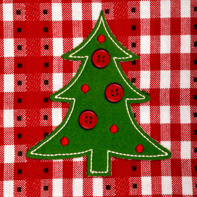 Kitchen & Tabletop Jolly Tree Collection Placemat Set, Jolly Tree, S/4
