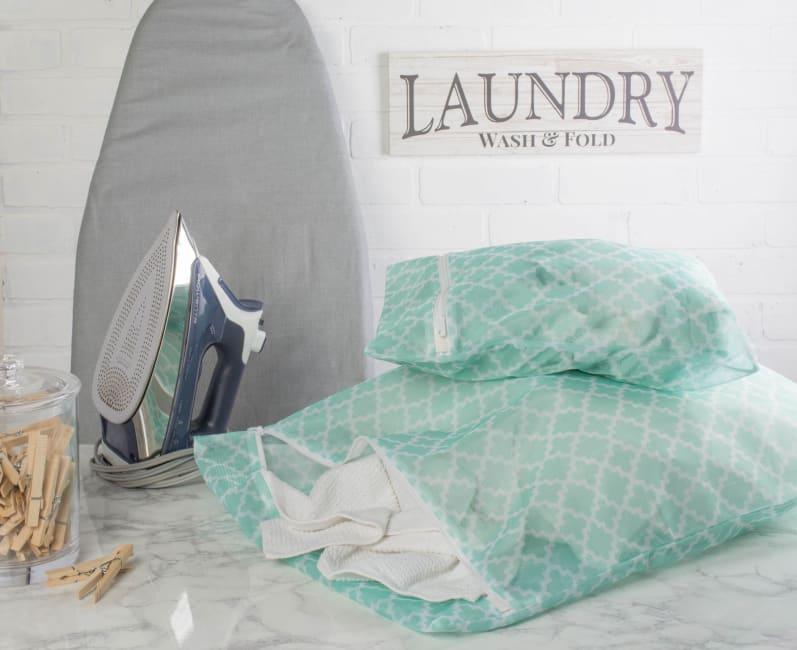 Aqua Lattice Set A Mesh Laundry Bag (Set of 6)