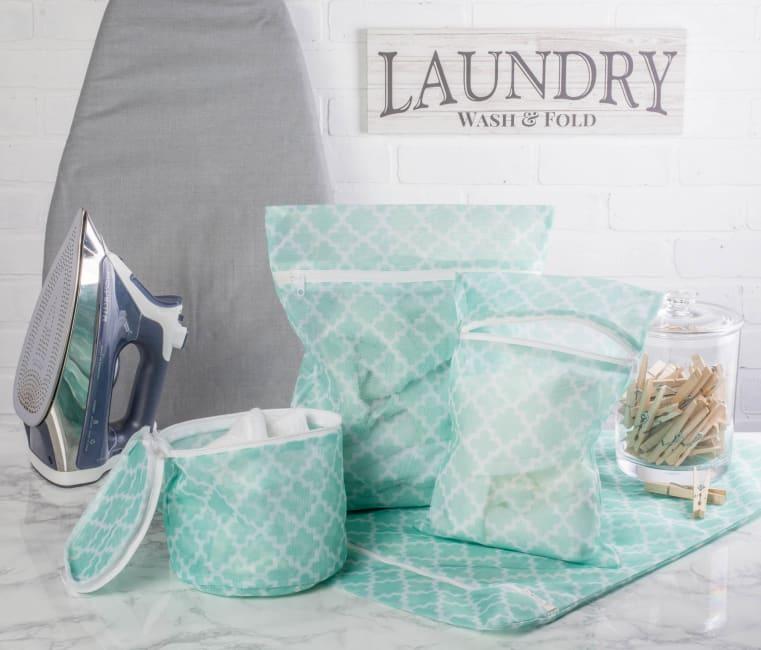 Aqua Lattice Set C Mesh Laundry Bag (Set of 6)