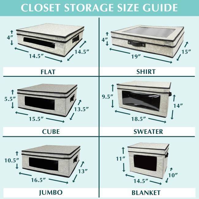 Closet Storage Shirt Damask