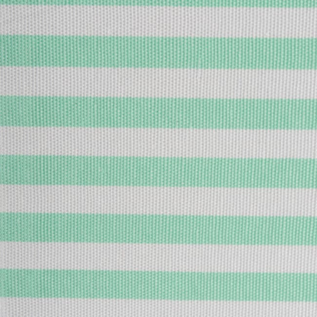Polyester Cube Pinstripe Aqua Square 13x13x13