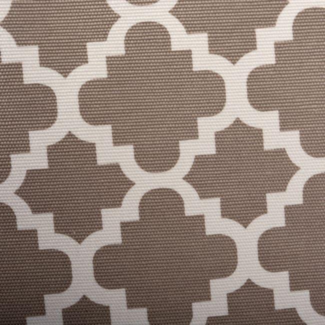 Polyester Storage Bin Lattice Brown Rectangle Large 17.5x12x15