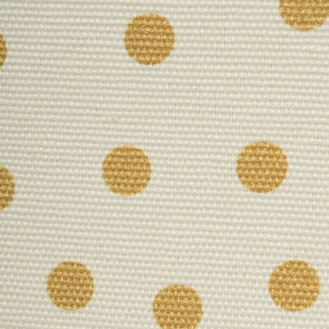 Canvas Laundry Storage Bin Confetti Gold Oval Assorted (Set of 2)