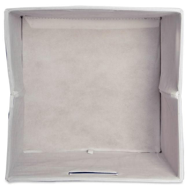 Polyester Cube Chevron Gold Square 13x13x13