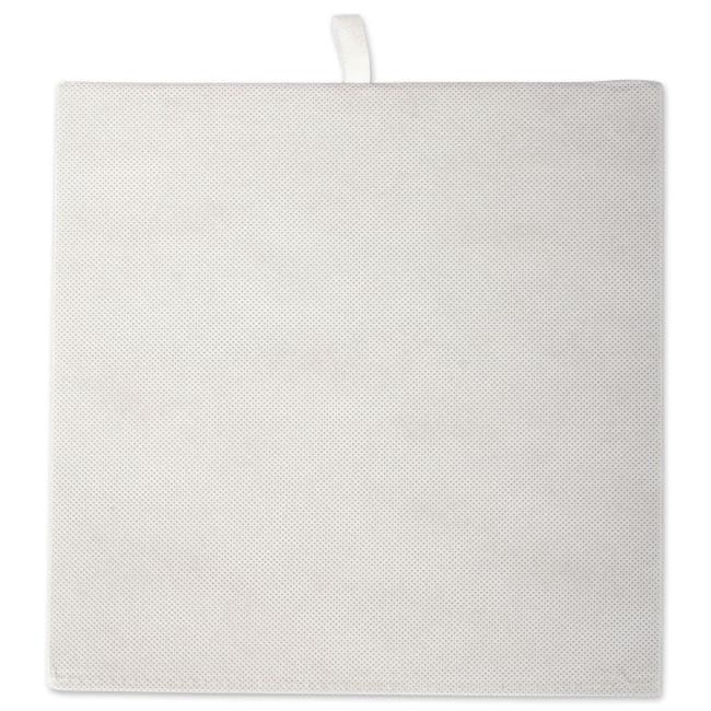 Polyester Cube Solid Gray Square 13x13x13