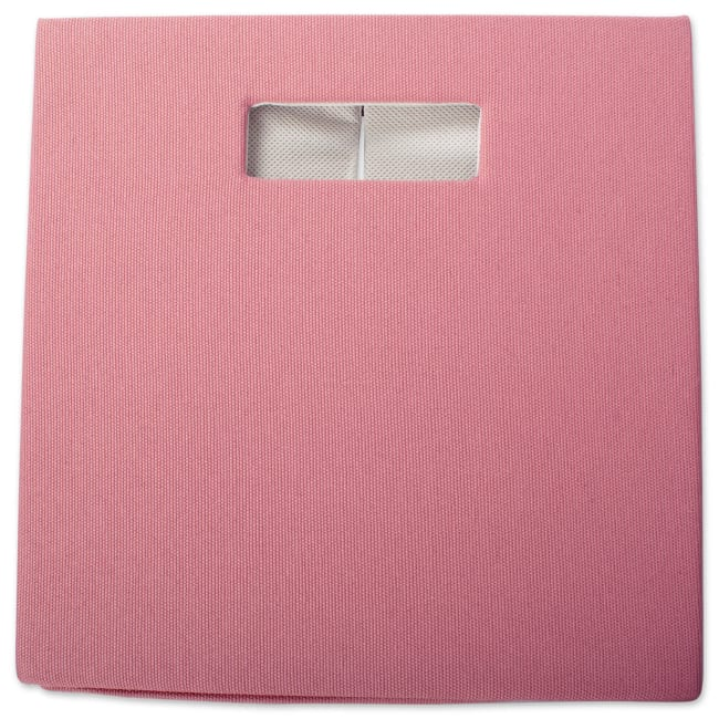 Polyester Cube Solid Rose Square 13x13x13