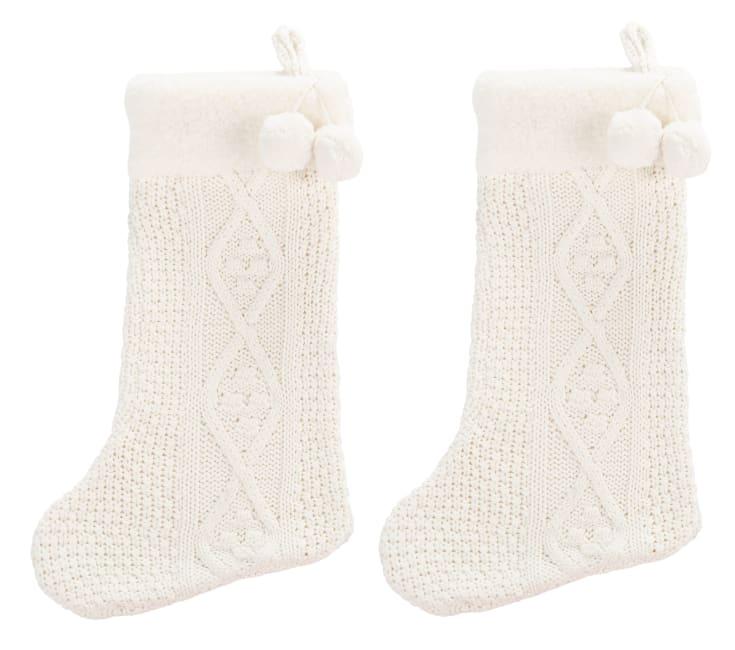 Safavieh Cookie 12 x 20 Stocking in White
