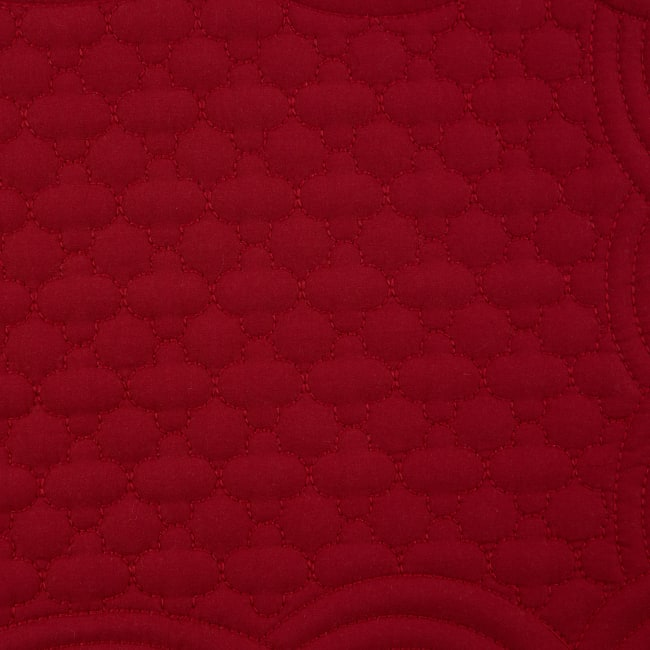 Cranberry Quilted Farmhouse Placemat (Set of 6)