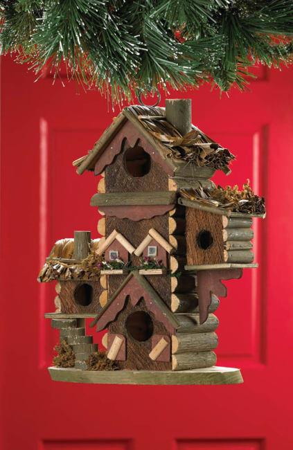 Gingerbread-Style Birdhouse