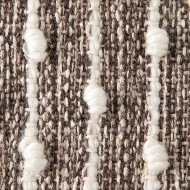 Stone Recycled Cotton Loop Rug