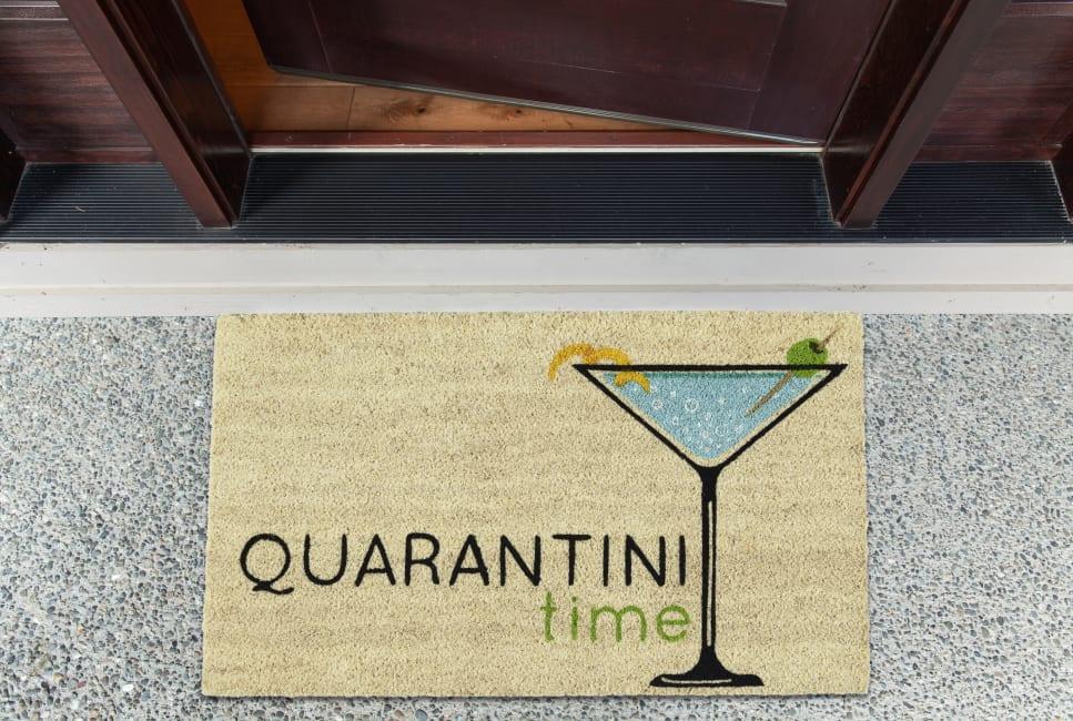 Quarantini Time Doormats