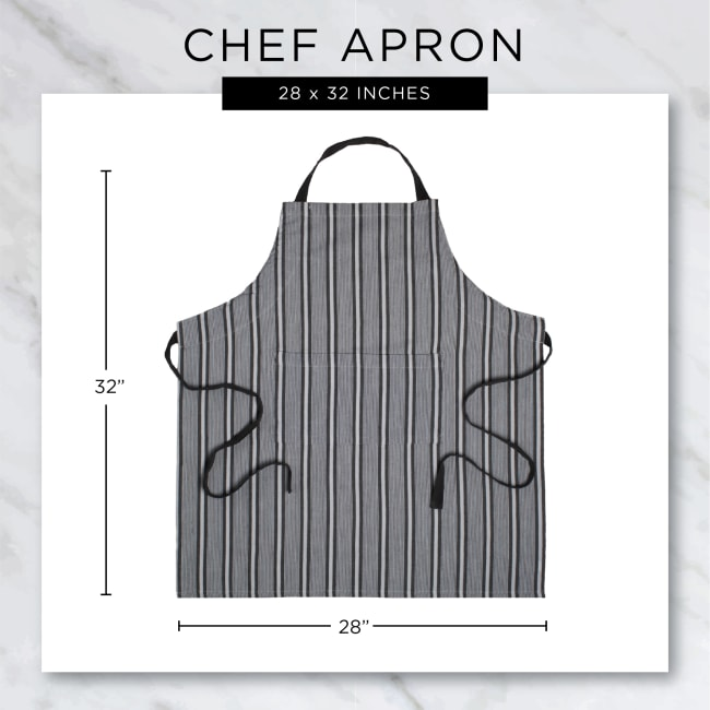 Vintage Red Buffalo Check Chef Apron