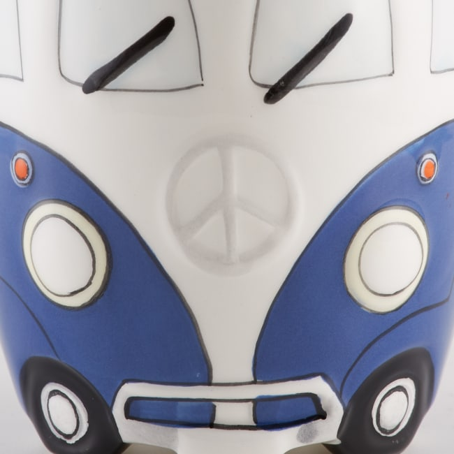 Retro Bus Ceramic Set of 2 Mugs