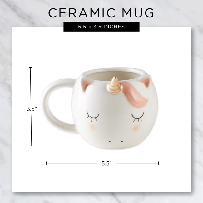 Unicorn Ceramic Set of 2 Mugs