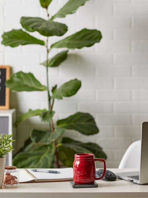 Red Mason Jar Ceramic Set of 2 Mugs