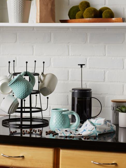 Mermaid Ceramic Set of 2 Mugs