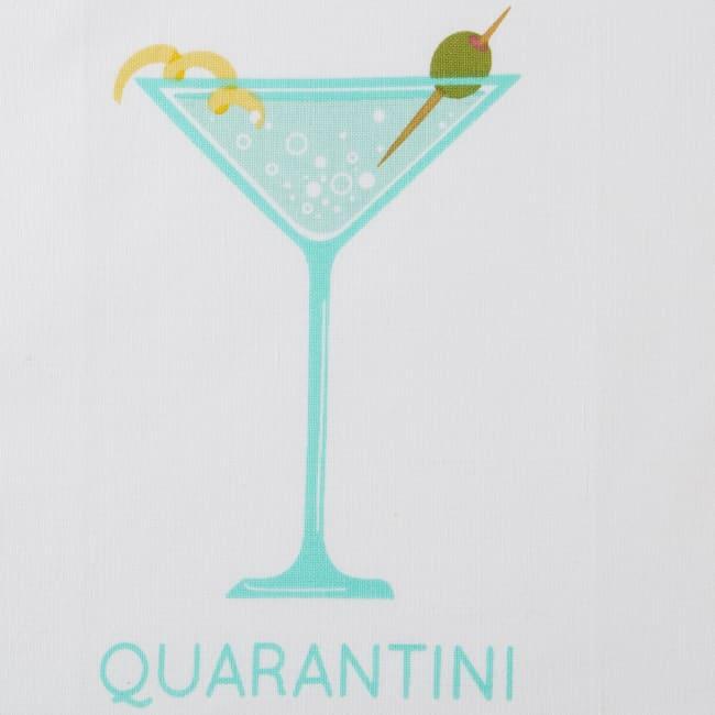 Quarantini Time 3 Piece Dishtowel