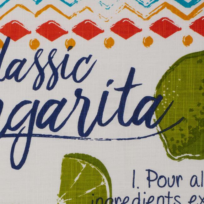 Verano De Fiesta Recipe Printed 2 Piece Dishtowel