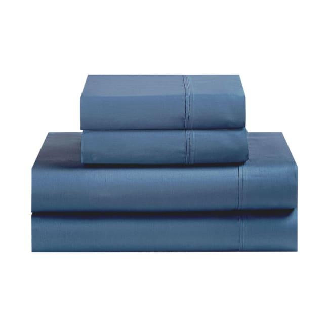 Avanti Fiesta Lapis Blue Queen Sheet Set