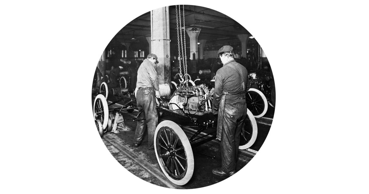 How Did Henry Ford Build Cars Quickly
