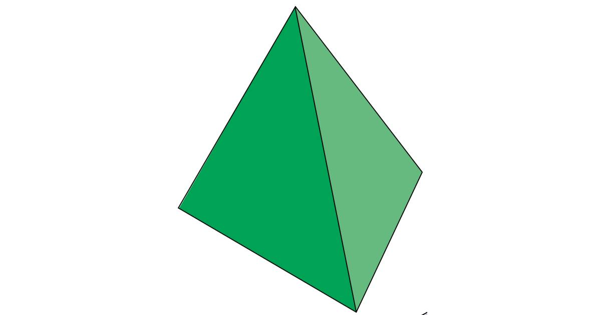 Triangular Based Pyramid Triangular Based Pyramid Facts