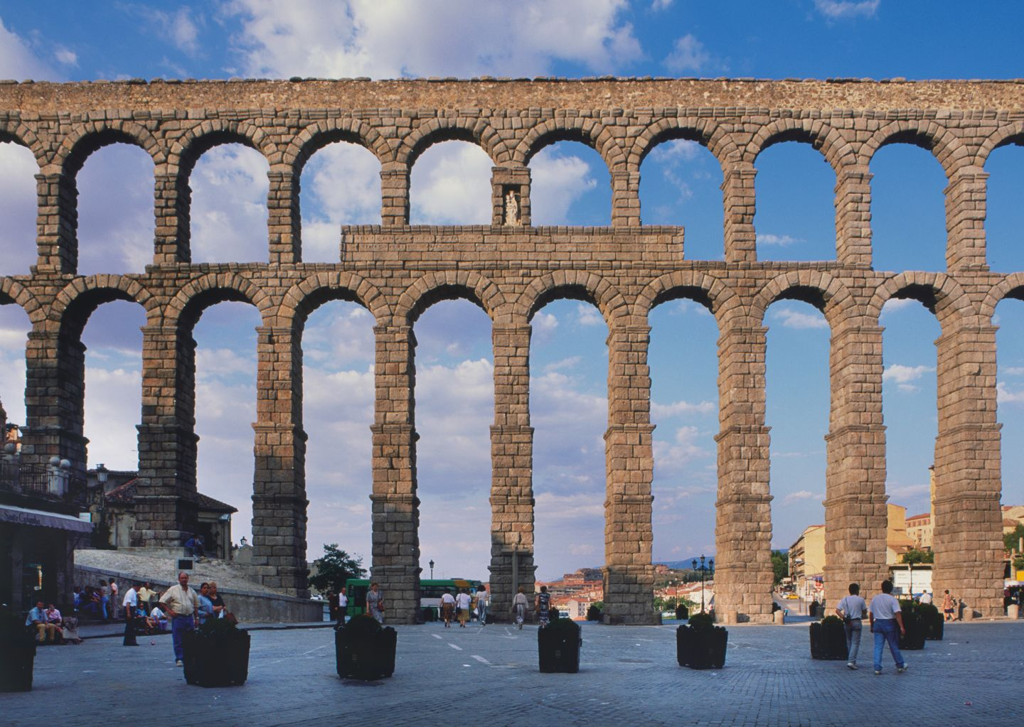 the history and construction of roman aqueducts in the roman empire The western roman empire may have fallen more than roman aqueducts were so well built that some are still in enabling the construction of elaborate.