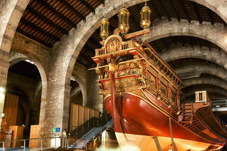 Museu Marítim and Drassanes  Barcelona  DK Eyewitness Travel