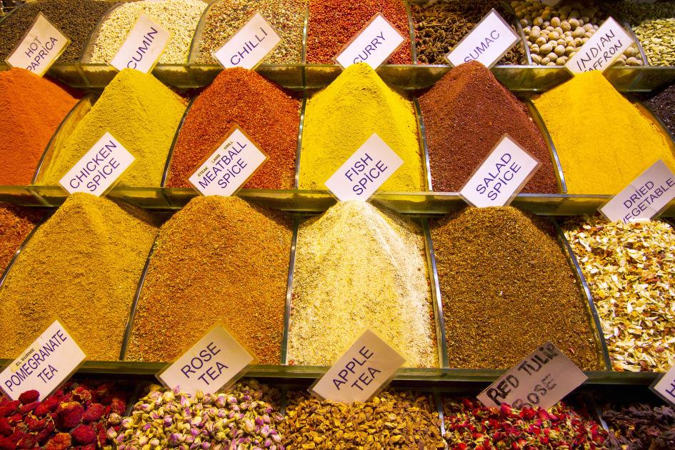 Spice Bazaar  Istanbul  DK Eyewitness Travel