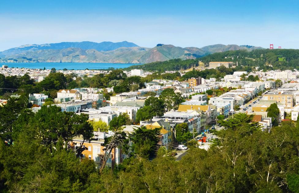 Richmond District San Francisco DK