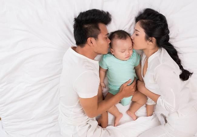 Image result for keluarga tidur dgn anak