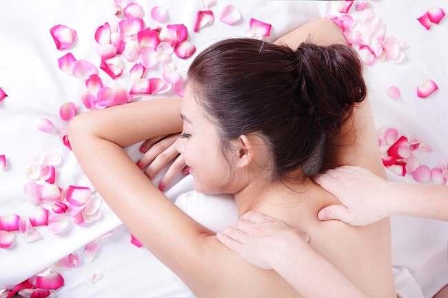 female sensitive body part